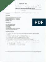 Free Formaldehyde W033
