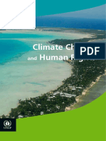 UNEP - Climate Change and Human Rights - December 2015