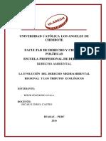 Tarea de La III Unidad - Derecho Ambiental