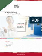 Dortek FRP Doors Brochure