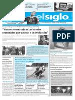 Edición Impresa El Siglo 07-10-2016