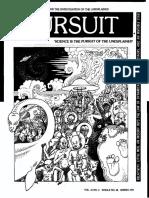 PURSUIT Newsletter No. 38, Spring 1977 - Ivan T. Sanderson