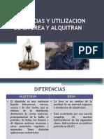 Diferencias y Los Usos Del Alquitran y Brea