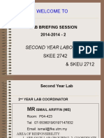 Lab Briefing 2015