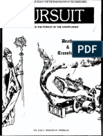 PURSUIT Newsletter No. 39, Summer 1977 - Ivan T. Sanderson