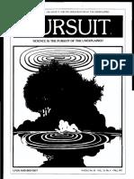 PURSUIT Newsletter No. 40, Fall 1977 - Ivan T. Sanderson