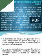 Contrato de Exportacion Llave en Mano