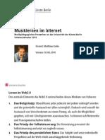 Online-Musikplattformen - Seminarprojekt