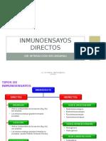 6) Inmunoensayos Directos (de Interacción Secundaria) II