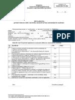 10-Declaratie Privind Valoarea Reala a Lucrarilor Executate ITL 064