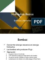 Hidraulica Basica Bombas estudiante nivel 1 resumen