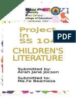 LIT 212 Project