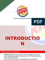 Burger King Customer Expectations