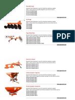 Agrozenit Farm Equipment Product Range