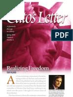 Realizing Freedom, Cato Cato's Letter Vol. 8 No. 2