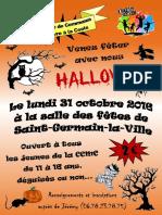 Soiree Halloween - 31 octobre 2016