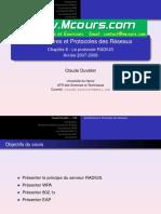 Architectures Et Protocoles Des Reseaux Ch8 Le Protocole RADIUS