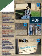 Magazine Contents Design