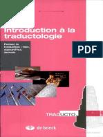 Mathieu Guidère - Introduction à la traductologie