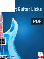 32 Hot Guitar Licks TAB Book Online