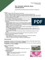 Concepto y Definición Prótesis Fija