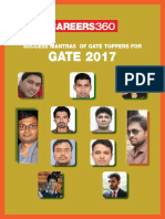 Success Mantras of GATE Toppers for GATE 2017