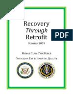 Recovery Through Retrofit Report