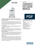 Epson WorkForce Pro WF-8590 D3TWFC Business Inkjet Printer Datasheet
