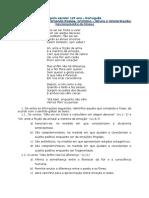 Ficha de Avaliação F.pessoa - Ortónimo