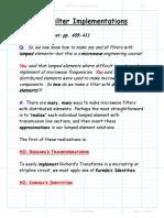 8_5 Filter Implementation