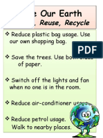 Save Our Earth- Ppt