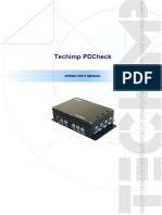 PDCheck User Manual - Rev08