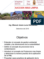 Ses 4.1. Produccion Mas Limpia, PML