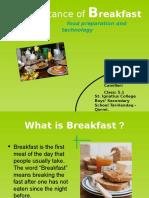 sarapan itu penting