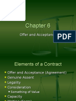 Chapter 6 - Offer and Acceptance 2010