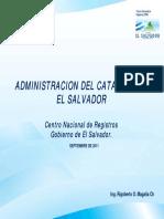 Administracion Catastro Elsalvador RMagaña