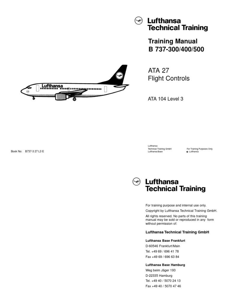 270604153 b737 3 ata 27 l3 e aircraft flight control system rh scribd com