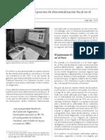 Análisis del proceso de descentralización fiscal en el Perú
