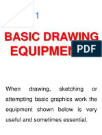 GENG 111 - Lecture 01 - Basic Drawing Equipments