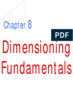 GENG 111 - Lecture 08 - Dimensioning Fundamentals