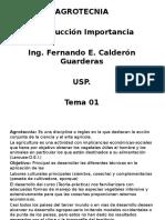 Tema 01 La Agrotecnia Como Ciencia
