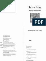 Feinman&Marcus Archaic States