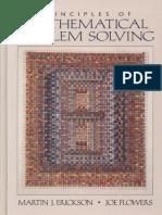 Principles of Mathematical Problem Solving