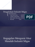 Pengelolaan Industri Migas