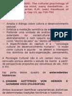 Piscologia transcultural 2016