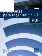 Materiales Para Ingenieria Civil