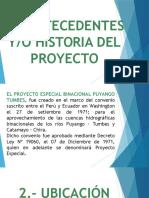 proyectos especiales datos generales