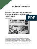 Le freudo-marxisme de Wilhelm Reich .docx