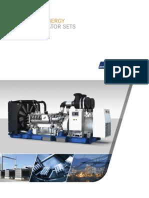 Diesel Generator Set Brochure | Diesel Engine | Cogeneration
