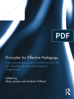 Principles for Effective Pedagogy Premium 2 2016